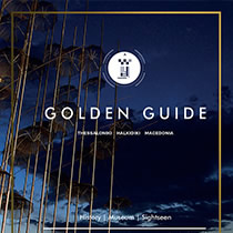 portfolio: Art Direction & Graphic Design GOLDEN GUIDE Thessaloniki, Halkidiki, Macedonia 2015
