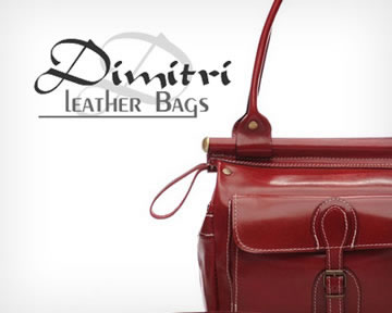 portfolio: Dimitri leather bags